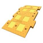 Дорожная неровность ИДН 1100 желтый средний элемент