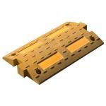 Дорожная неровность ИДН 300 желтый средний элемент