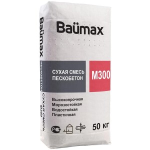 Пескобетон М300 Baumax, 40 кг