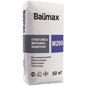 Смесь М200 Baumax монтажно-кладочная, 50 кг