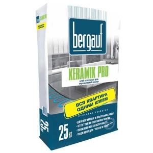 BERGAUF KERAMIK PRO клей для плитки, 25 кг