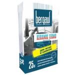 Термостойкий клей для плитки BERGAUF KERAMIK TERMO, 25 кг