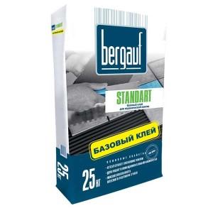 BERGAUF STANDART клей для плитки, 25 кг