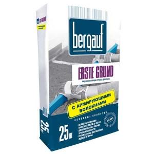 BERGAUF ERSTE GRUND стяжка пола цементная, 25 кг