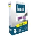 Финишная белая фасадная шпаклевка Bergauf UNI FINISH, 20 кг