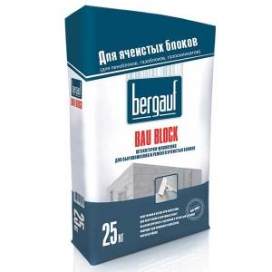 Bergauf BAU BLOCK штукатурка тонкослойная фасадная