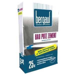 Фасадная штукатурка BERGAUF BAU PUTZ ZEMENT, 25 кг