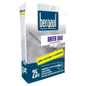 BERGAUF UNTER BAU цементная штукатурка, 25 кг