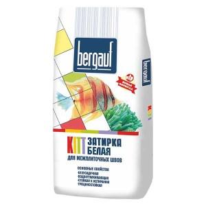 Затирка Bergauf KITT (белая), 25 кг