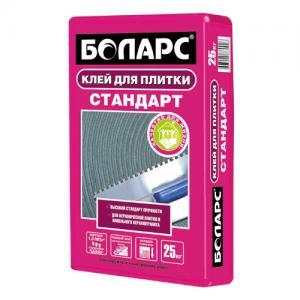 Боларс Стандарт - клей для плитки усиленный