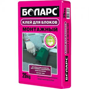 БОЛАРС Монтажный клей для блоков