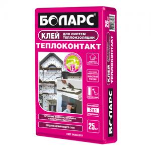 БОЛАРС Теплоконтакт монтажный клей для утеплителя