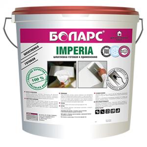 БОЛАРС Imperia - готовая шпатлевка для внутренних работ