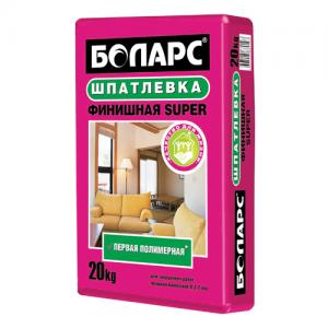 Шпатлевка БОЛАРС Финишная SUPER полимерная