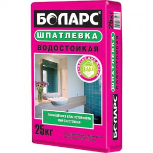 Шпатлевка БОЛАРС Водостойкая
