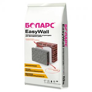 Боларс Easy Wall - теплоизоляционная штукатурка