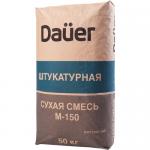 Штукатурная сухая смесь М-150 DAUER, 50 кг