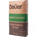 Универсальная сухая смесь М-150 DAUER, 50 кг