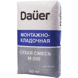 Монтажно-кладочная смесь М-200 Dauer