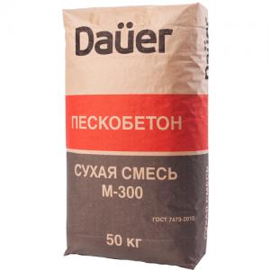Пескобетон М300 Dauer