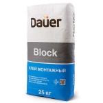 Клей для блоков Dauer BLOCK, 25 (40) кг