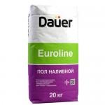 Наливной быстротвердеющий пол DAUER Euroline, 20 кг