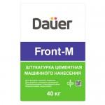 Фасадная штукатурка DAUER FRONT-M, 40 кг