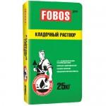 Клей для пеноблоков и газоблоков FOBOS PRO, 25 кг