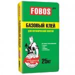 """Плиточный клей FOBOS PRO """"Базовый"""" для плитки и керамогранита"""