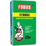 Цементная стяжка пола FOBOS PRO