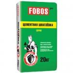 """Шпатлевка цементная фасадная FOBOS PRO """"Серая"""""""