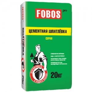 Шпатлевка цементная фасадная FOBOS PRO
