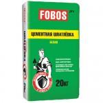 Шпатлевка фасадная белая цементная FOBOS Pro