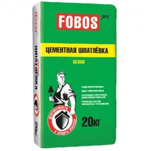Fobos Pro - фасадная белая шпатлевка