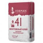 Клей для пазогребневых плит Forman №41