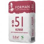Клей для керамической плитки Forman №51
