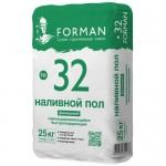 Финишный наливной пол FORMAN №32, 25 кг