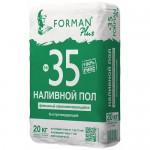 Суперфинишный влагостойкий наливной пол FORMAN №35