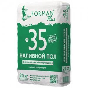 Супер-финишный наливной пол Forman 35