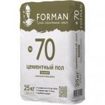 Цементный ровнитель для пола Forman №70