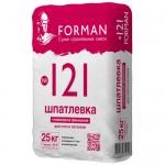 Шпатлевка полимерная супербелая финишная  Forman №121