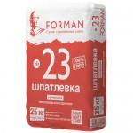 Шпатлевка гипсовая высокопрочная для стыков и швов Forman №23