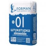 Штукатурка суперлегкая гипсовая FORMAN №01