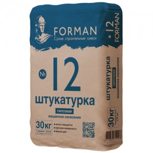 Штукатурка машинного нанесения Forman №12