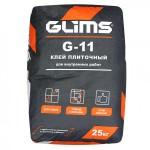 Плиточный клей GLIMS G-11, 25 кг