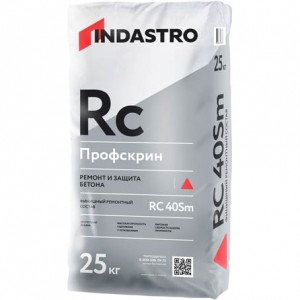 Финишный ремонтный состав Индастро Профскрин RC40 Sm, 25 кг