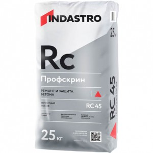 Индастро Профскрин RC45 ремонтный состав, 25 кг