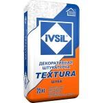 Декоративная штукатурка IVSIL TEXTURA Шуба, 25 кг