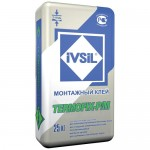 Клеевая смесь для утеплителя IVSIL TERMOFIX-Р, 25 кг