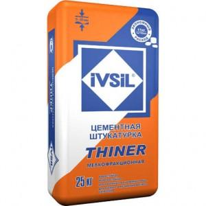 IVSIL THINER фасадная штукатурка, 25 кг